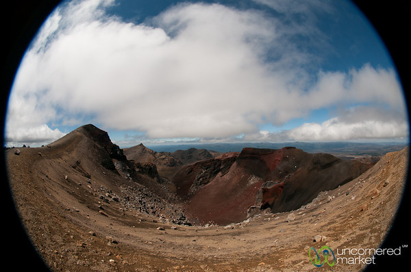Red Crater at Tongariro National Park - New Zealand