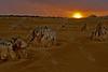 Pinnacles Nambung NP bij Cervantes,Austalia,Australië,Australie