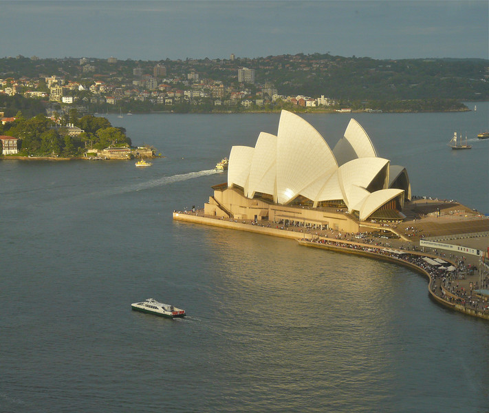 The romantic view from Four Seasons Hotel Sydney. It's one of our favorite romantic getaways from around the world.