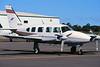 VH-DEH Piper PA-31-325 Navajo c/n 31-7812123 Brisbane-Archerfield/YBAF/ACF 24-04-99 (35mm slide)