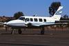 VH-SBN Piper PA-31-350 Navajo Chieftain c/n 31-7305070 Ayers Rock/YAYE/AYQ 23-04-99 (35mm slide)