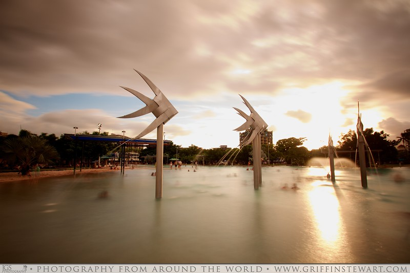 Cairns Lagoon At Sunset 2