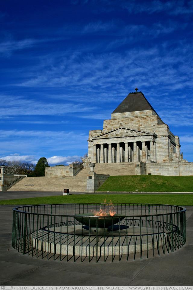 Anzac Memorial Melbourne Australia
