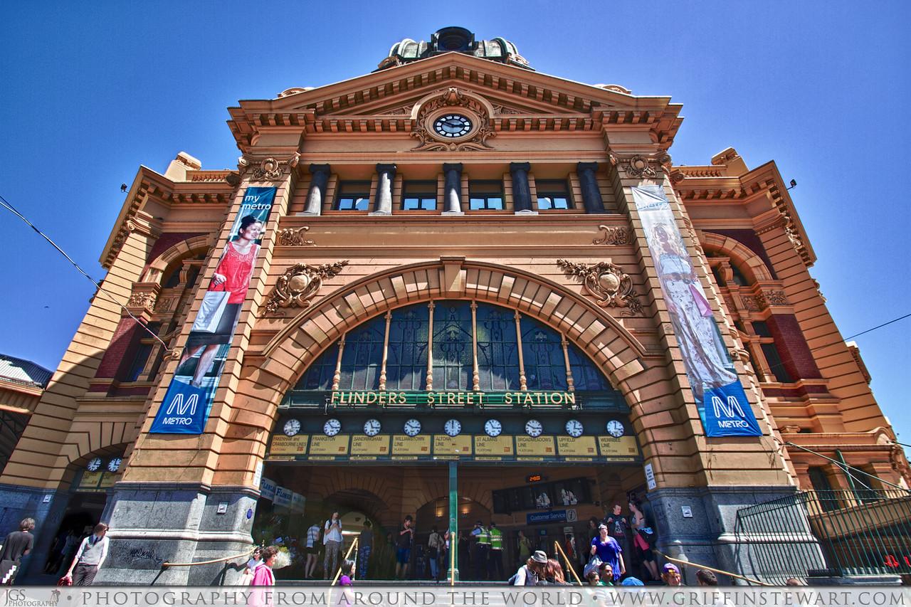 Flinders Street Station HDR