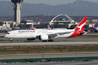 VH-ZNA Boeing 787-9 c/n 39038 Los Angeles/KLAX/LAX 26-01-18