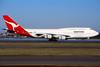 VH-OED Boeing 747-4H6 c/n 25126 Sydney-Kingsford Smith/YSSY/SYD 02-05-99 (35mm slide)