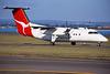 """VH-TQF de Havilland Canada DHC-8-102 """"Eastern Australia Airlines"""" c/n 067 Sydney-Kingsford Smith/YSSY/SYD 02-05-99 (35mm slide)"""