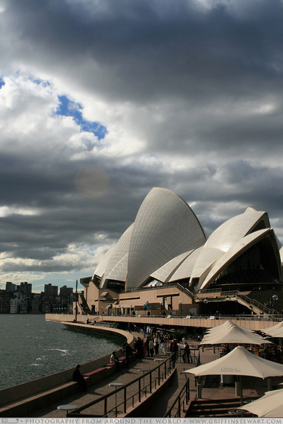 Afternoon Light On The Opera House