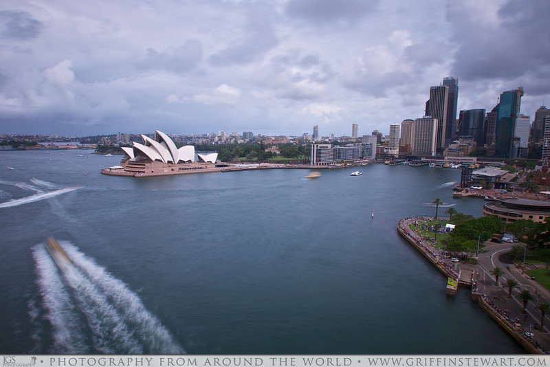 Movement In Sydney Harbour