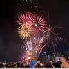 Australia Day Fireworks 2012