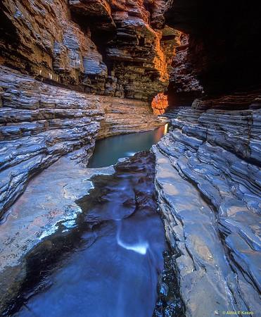 Kermits Pool Hancock Gorge, Karajini NP, WA 700-25-259