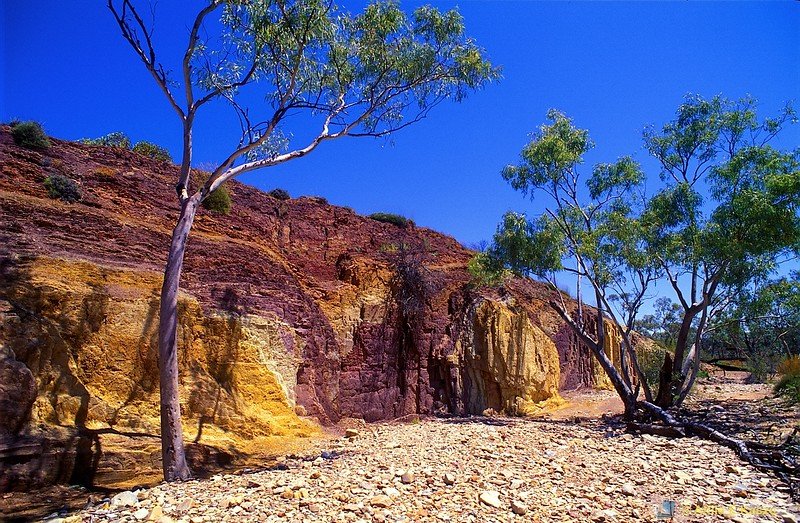 Ochre Pits<br /> East MacDonnell NP, NT