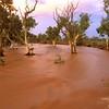Stephens Creek - in flood<br /> Silverton, NSW<br /> 600-3-441