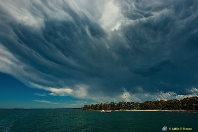 Thunder Storm - Plantation Point, Jervis Bay<br /> Huskisson, Shoalhaven, NSW