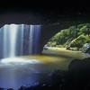 Natural Bridge / Waterfall<br /> Springbrook NP, QLD