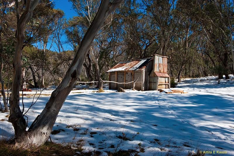 Cascades Hut (Built 1935)<br /> Cascade Track, Dead Horse Gap<br /> Kosciuszko NP, NSW