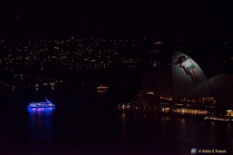 Vivid 2012 Lightshow - Opera House, Sydney Harbour, NSW