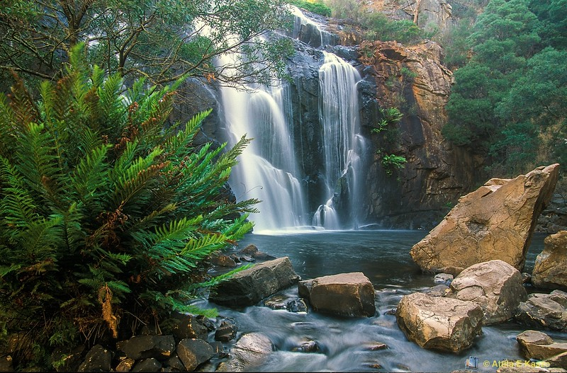 Mackenzie Falls<br /> Grampians NP, Vic