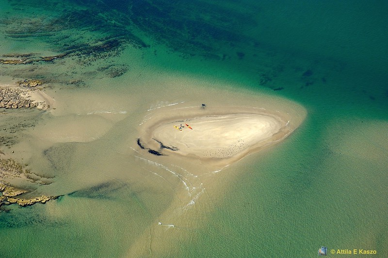 Canoes On Sand Island<br /> Currarong, Shoalhaven, NSW