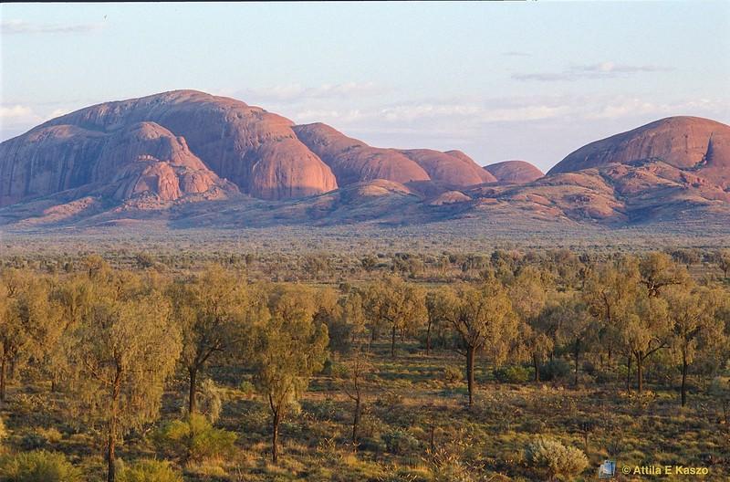 Olgas - Sunrise<br /> Uluru NP, NT