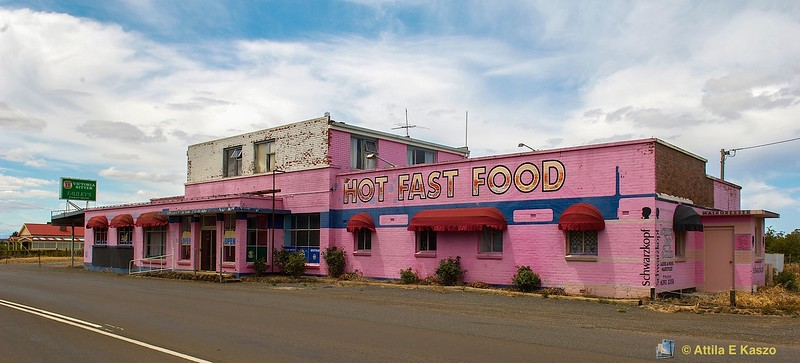 Pink Roadhouse<br /> <br /> Hagley, Tasmania
