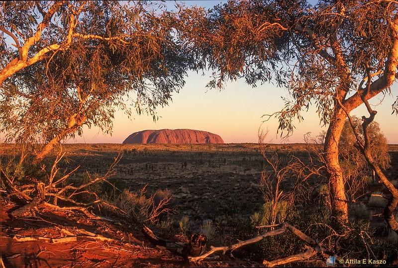 Uluru - Sunset<br /> Uluru NP, NT