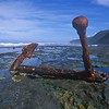 Anchor Marie Gabrielle (1869)<br /> Port Campbell NP.<br /> Great Ocean Rd. Vic