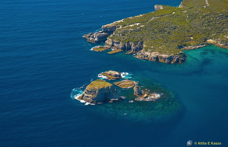 Aerial - Drum & Drumsticks / Lamond Head<br /> Shoalhaven, NSW