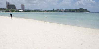 The beach at Tanuming...