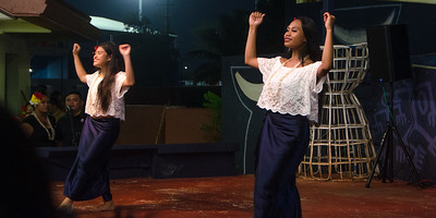 Chamorro dancers...