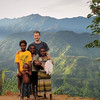 OC 435 - PNG, Fr. Andrzej Falat SVD with children from Kosap - Outstation of Kol
