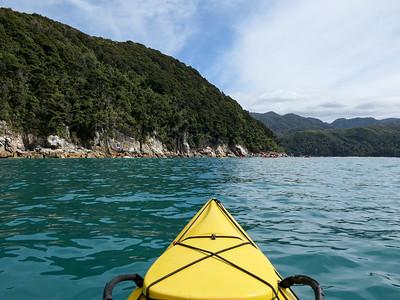 Kayaking in Abel Tasman National Park