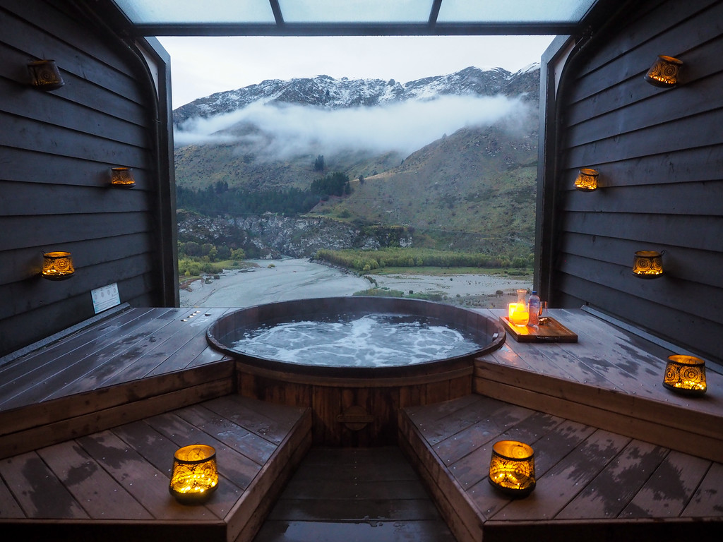 Onsen Hot Pools in Queenstown