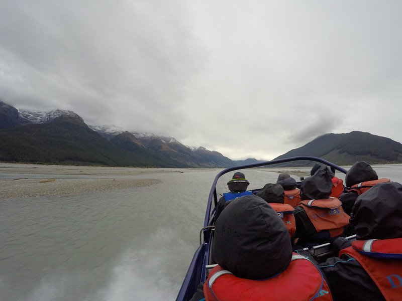 Dart River Wilderness Safari in Mount Aspiring National Park