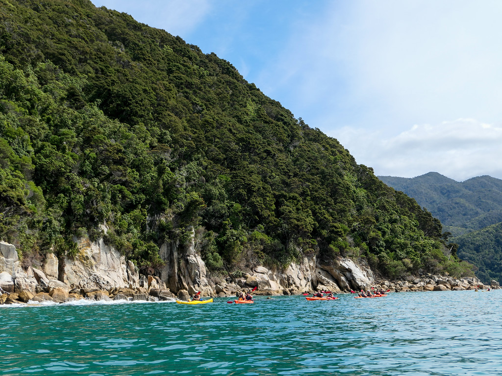 Kayaking in Abel Tasman National Park