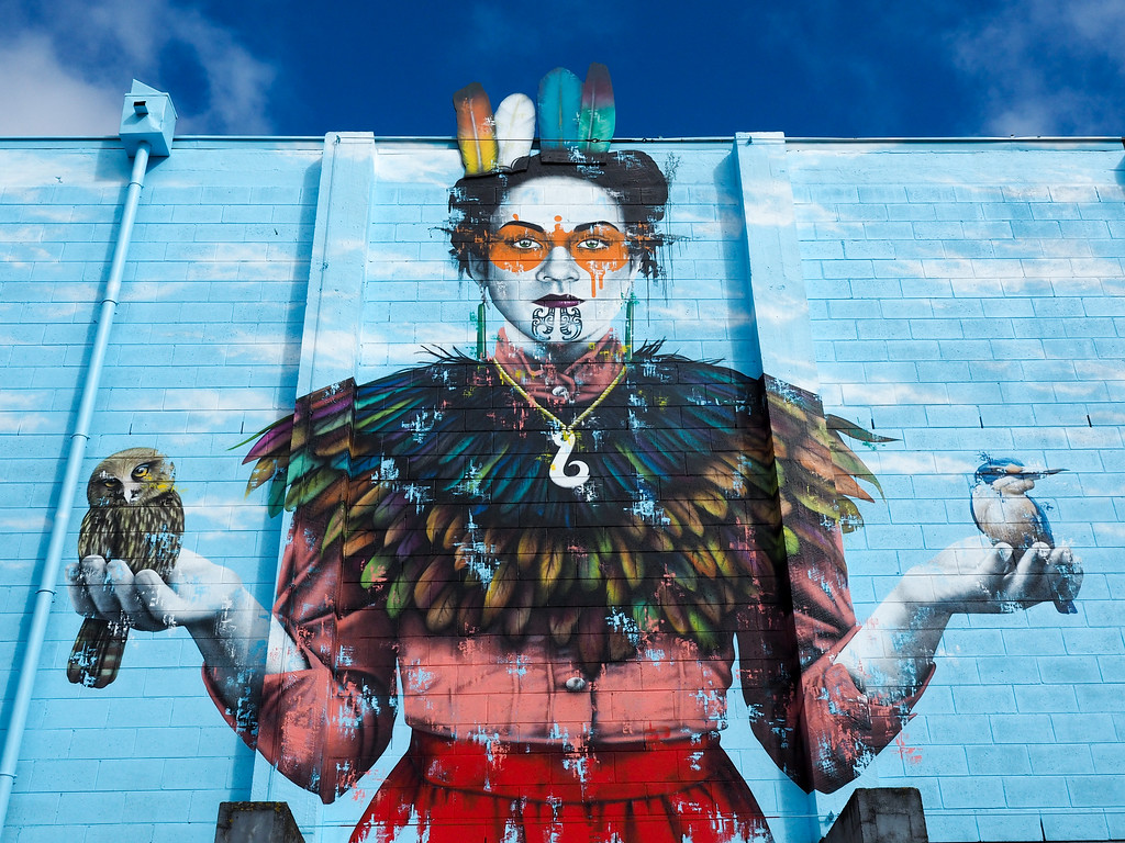 Street art in Christchurch, New Zealand