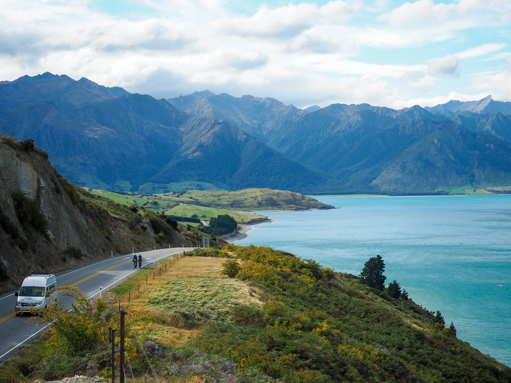 Driving on the South Island