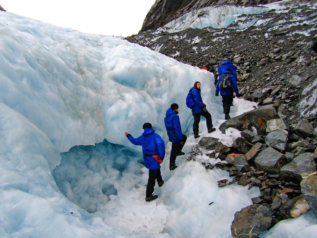 Hiking on the Franz Josef Glacier
