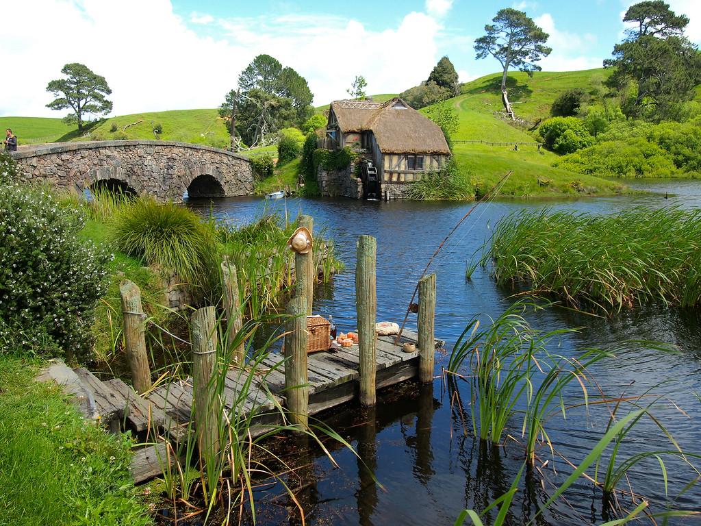 Hobbiton in Matamata, New Zealand