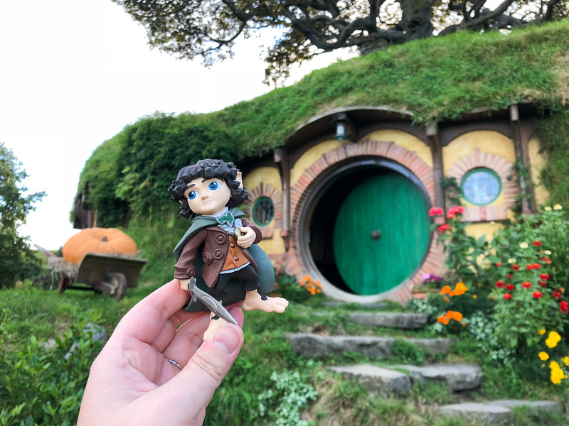 Frodo at Bag End