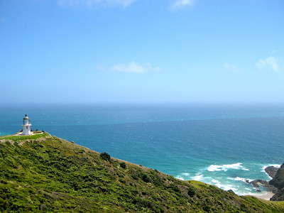 Cape Reinga in New Zealand