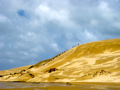 Te Paki Sand Dunes in Northland