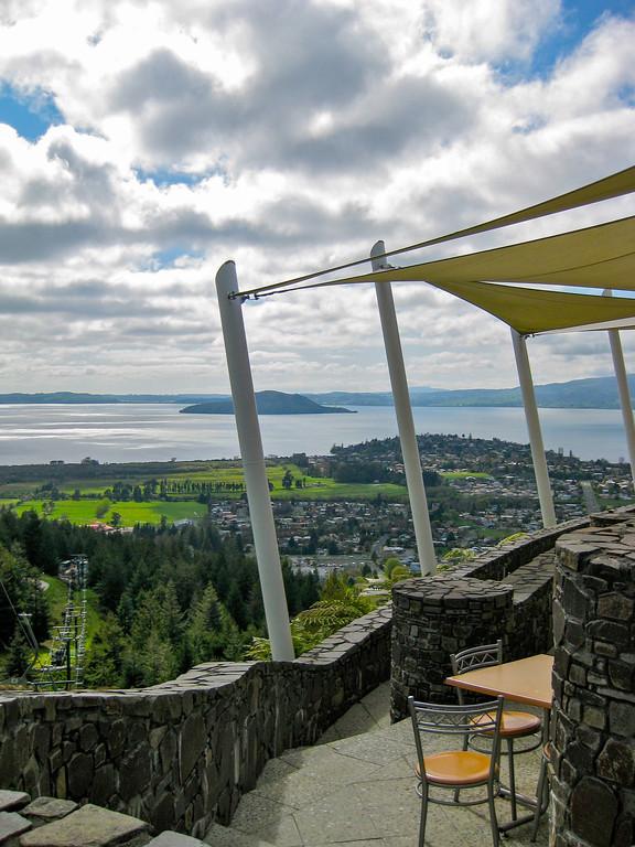 View over Lake Rotorua