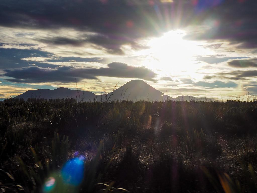 Mount Ngauruhoe in Tongariro National Park