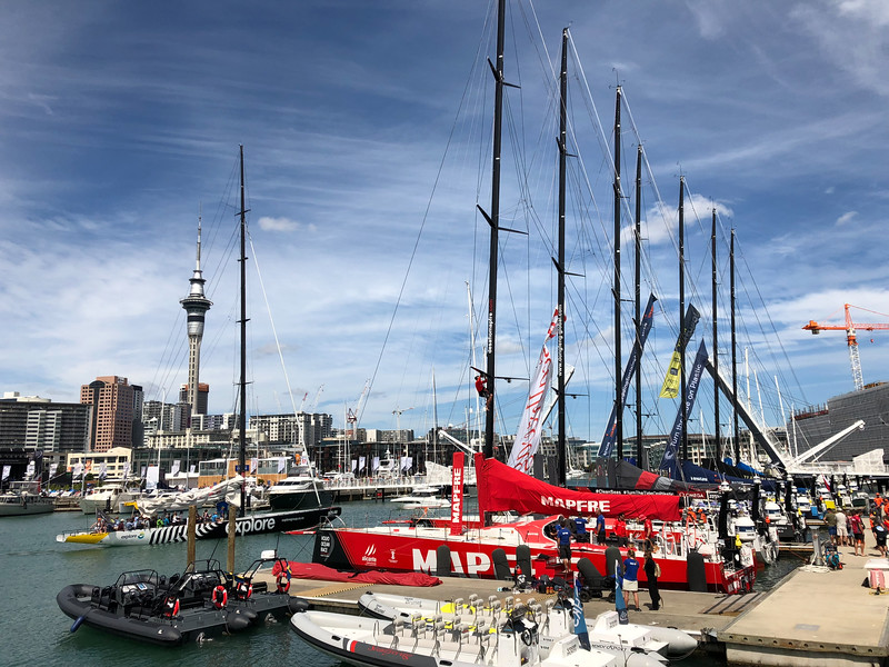 Auckland Harbour in New Zealand