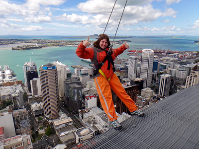 Sky Walk at the Sky Tower in Auckland