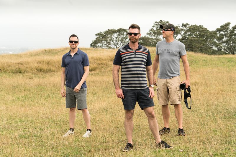 Scott, Shawn, Tim