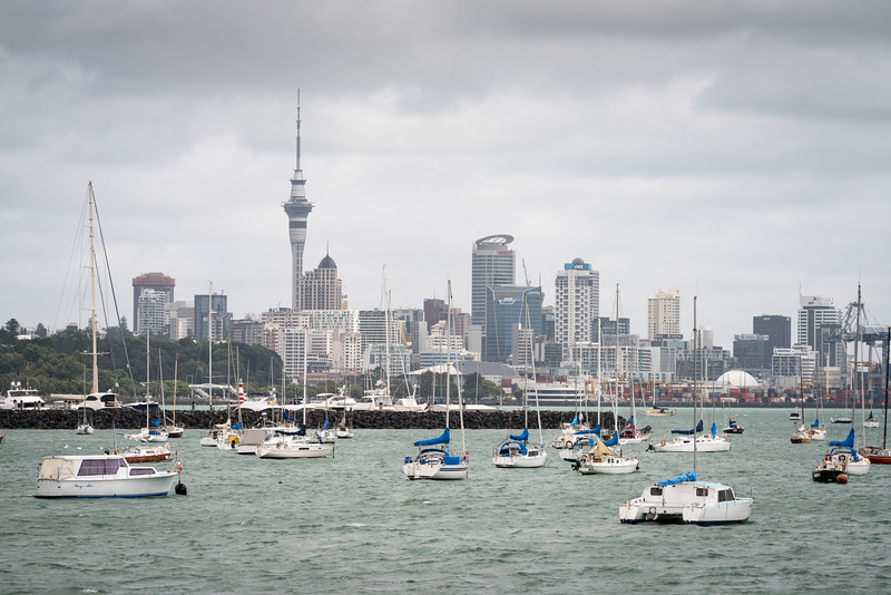 Auckland from Pakanoa Point.