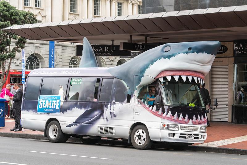 Shark bus!