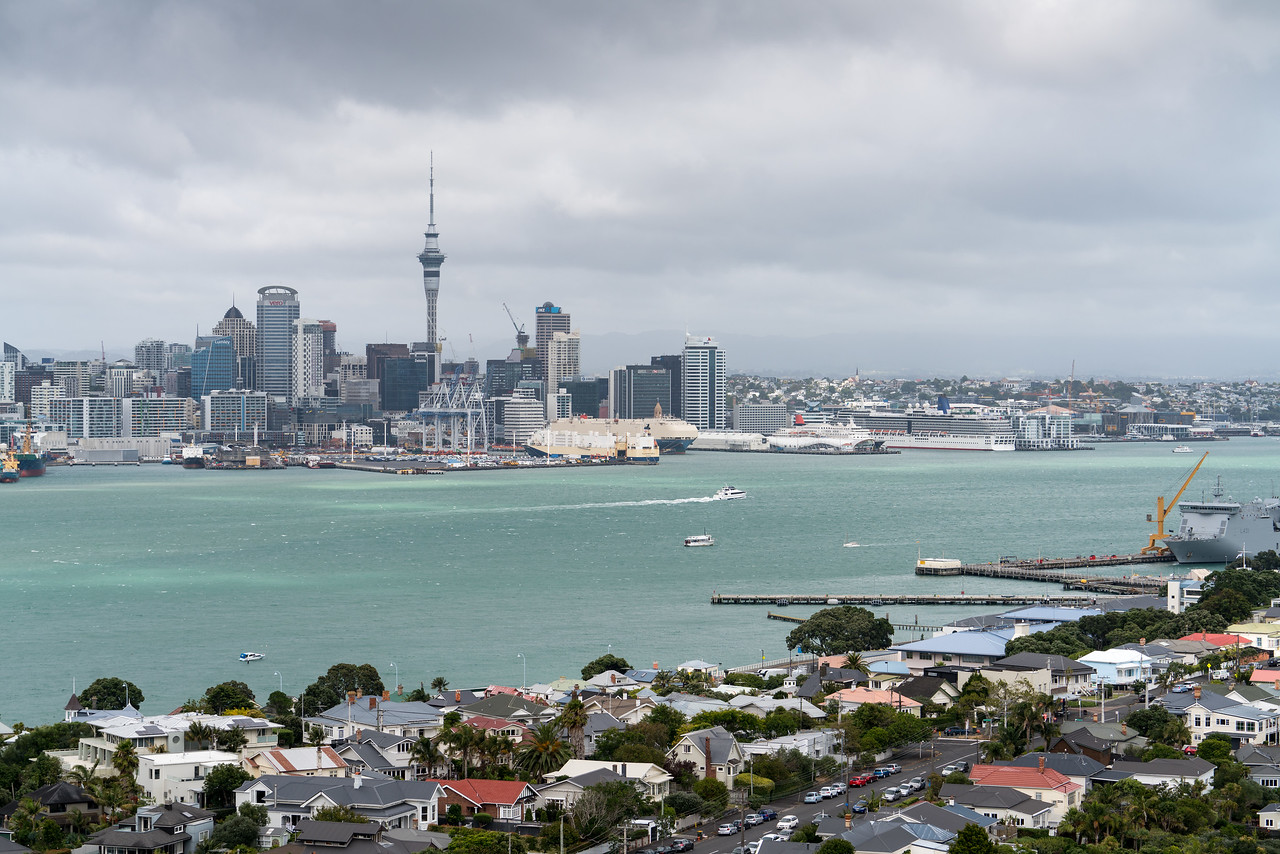 Auckland from Mount Victoria.